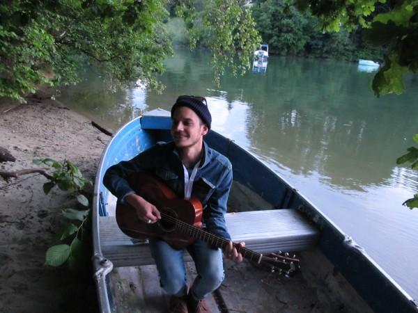 Rob von The Slow Show am Schiffenensee