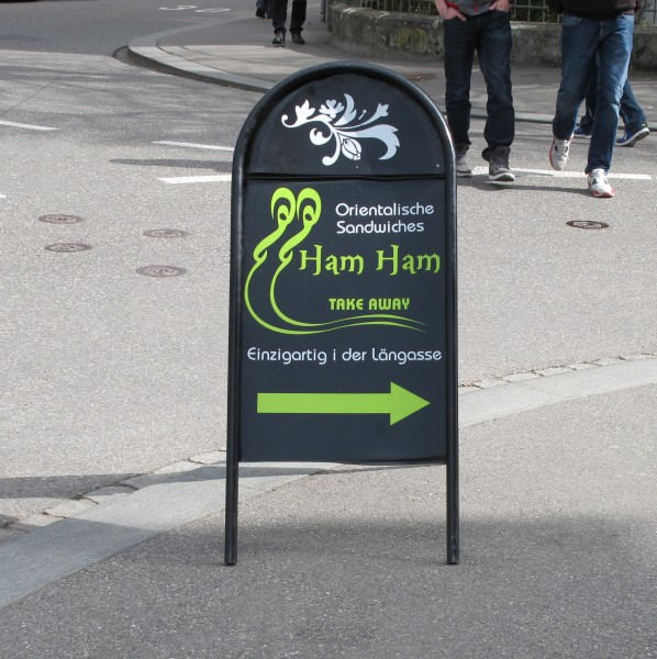 Ham Ham Schild Cropped